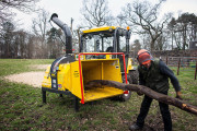 Техника безопасности при работе с измельчителем древесных отходов