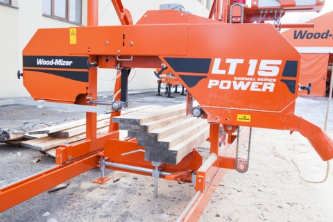 Ленточнопильный станок Wood-Mizer LT15